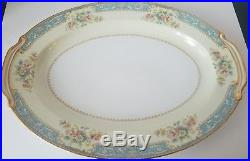 Noritake Occupied Japan M China Bluedawn 88 PC Dinnerware Set Serving For 12