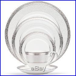 Noritake Odessa Platinum 40Pc China Set, Service for 8