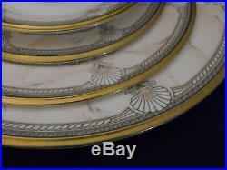Noritake Pacific Majesty Bone China 25 Pc. Set for 5 SeaShells EUC