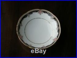 Noritake Palais Royal 9773 Set Of 8 Fruit Bowls, Fine Bone China Royal Pierpont