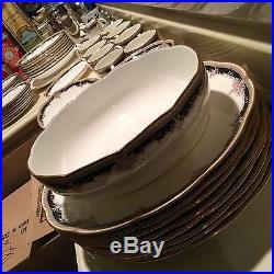 Noritake Palais Royal China 55 pc/ FREE SHIPPING INSURED 8 place settings PLUS