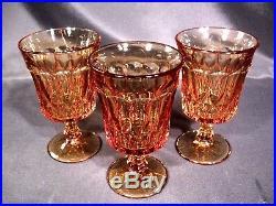 Noritake Perspective Amber Iced Tea Glasses Set of 8