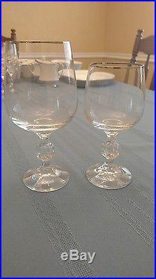 Noritake Pinnacle China 44 piece set with 10 matching glasses