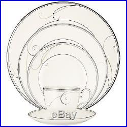 Noritake Platinum Wave 20Pc China Set, Service for 4