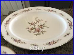 Noritake Porcelain China 7151 Asian Song 62 Piece Set Service for 8 + Platters &