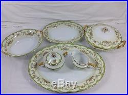 Noritake Porcelain China Set Marlene Pattern 9 Person 70 Piece Total