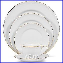 Noritake Princess Bouquet Gold China 40Pc Set, Service for 8