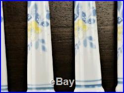 Noritake Progression China Good times 40 Piece flatware set Japan Floral