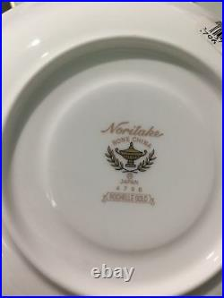Noritake Rochelle Gold Fine Porcelain China 6-piece, 1 Place Setting #4796 Nwt