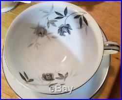 Noritake Rosamor fine china tea set service unused vintage mint Japan