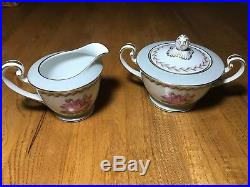 Noritake Rosemont China12 Piece Dinner Set and Many Serving Dishes #5084 REDUCED