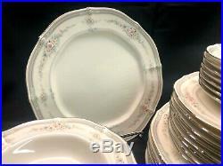 Noritake Rothschild 36 Piece China Set Japan Platinum 7293 Mint Never Used
