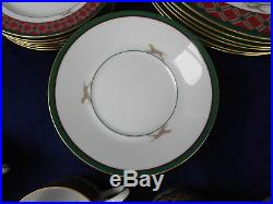 Noritake Royal Hunt Bone China (6) 5 pc Settings 3930 Dinner Salad Bread Butter