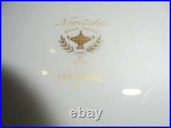 Noritake Ruby Garland Bone China 4 Complete 5 Piece Sets Rare Pattern MINT