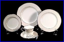 Noritake SILVER PALACE 35Pc China Set, 7 Complete Place Settings NEW WithTAGS