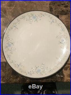 Noritake Sarita Salad Plates Set of 6 Set Of 4 Dinner PlaTes Ivory China Japan