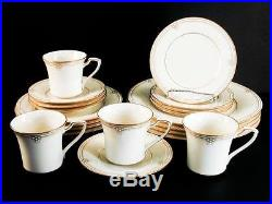 Noritake Satin Gown (7730) 20 Pc Service for 4 China Set