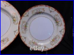Noritake Set of Early China Hand Painted Service for 12 plus Serving Pcs. JAPAN