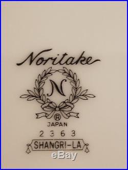 Noritake Shangri-la China 8 Place Settings Plus Serving Set