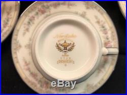 Noritake Shenandoah 9729 Fine Bone China Dinnerware Set of 37 Pieces! Mint
