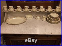 Noritake Shenandoah Bone China 9729 (36) Piece Set Excellent Condition