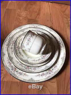Noritake Shenandoah China 10 Settings Plus Creamer Sugar Platter Oval Bowl 54pcs