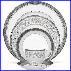 Noritake Summit Platinum China 60Pc Set, Service for 12