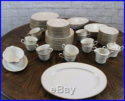 Noritake TULANE China Complete Set for 12 with Many Extra Pieces Excellent