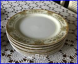 Noritake- The HINODE JAPAN China Dinnerware Set 45 Pieces -1940 s