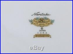Noritake VIOLETTE 3054 China Dinner Set 86 Pcs Mostly 12 Sets ++LOTS EXTRAS++
