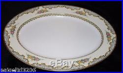Noritake Vintage Pattern Martelle Fine China 49-Piece Dinnerware Set #80464