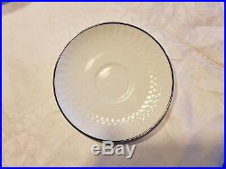 Noritake White 53 Piece Set White China 6358 Service For 6 Very Good Condition