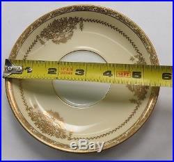 Noritake china #4781 Penelope TEA / COFFE SAUCERS lot set of 12 AND 1 CUP FREE