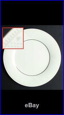 Noritake china dinnerware set for 16 place settings, platinum band, bone china