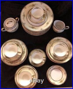 RARE Noritake Morimura Castella China Set 56 Pieces Total