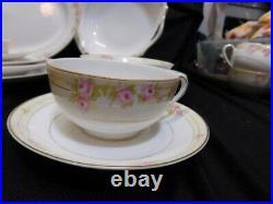 RARE The Lorraine Noritake Hand painted Nippon Set China 100 Pieces Circa 1918