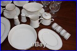 REDUCED PRICE! Complete Set Noritake Golden Cove China