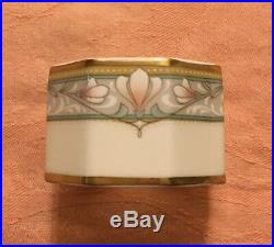 RETIRED Noritake Barrymore China Napkin Rings Set of 4 NEW in the Box