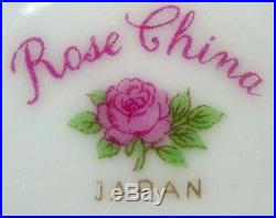 ROSE (Noritake) china FLORAL SPRAYS ro6 pattern 100+ piece SET SERVICE for 12
