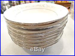 SET OF 4 Heather Fine China COUPE SOUP BOWLS Japan LOOKS UNUSED