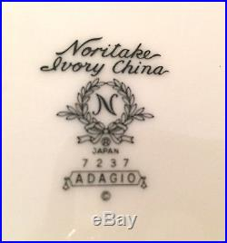 Set Of 4 Noritake Adagio 7 1/2 Coupe Soup Salad Bowls2 Sets Availivory China