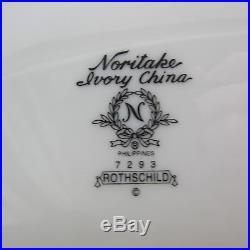 SET OF TWO Noritake China ROTHSCHILD Oval Servers