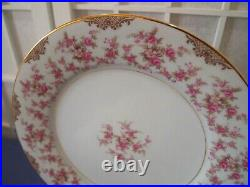 SET of Noritake Charmaine China 5506 Japan pink flowers