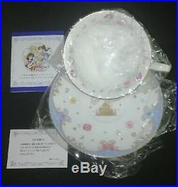 Sailor Moon Noritake Tea Cup & Saucer Set 2016 NM Premium Bandai bone china