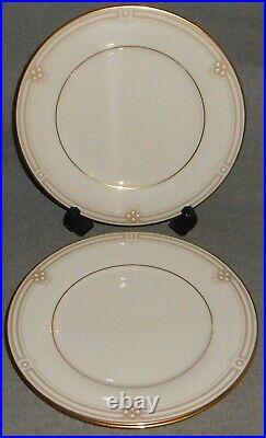 Set (3) NORITAKE Fine China SATIN GOWN PATTERN Dinner Plates MADE IN JAPAN