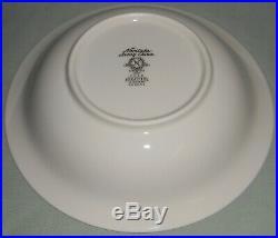 Set (4) Noritake Ivory China HEATHER PATTERN Soup Bowls MADE IN JAPAN