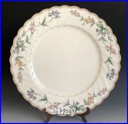 Set Of 9 Noritake Bone China Japan Brookhollow Dinner Plates