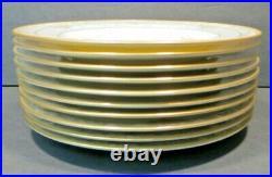 Set of 10 Noritake BARRYMORE DINNER PLATES #9737 10 5/8 Bone China JAPAN