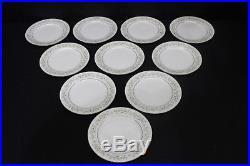 Set of 10 Vintage Noritake Fine China SAVANNAH #2031 8.25 Plates, Japan