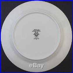 Set of 12 Noritake Adagio 7237 Ivory China Porcelain Floral Salad Plates